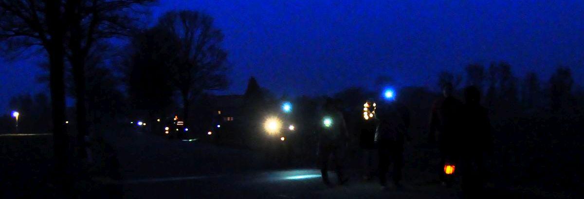Lichterkette zur Sanierung der Kreisstraßen 48 und 49 | 13.01.2018