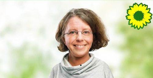 Grüne Spitzenkandidatin Katrin Langensiepen diskutiert mit Nenndorfer Bürgerinnen und Bürgern zur Europawahl