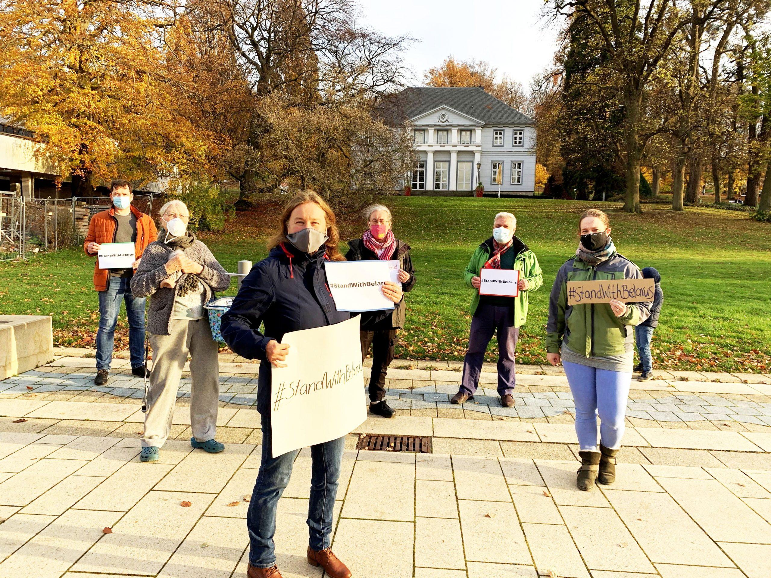 Nenndorfer Ortsverband der GRÜNEN solidarisiert sich mit Protesten in Belarus