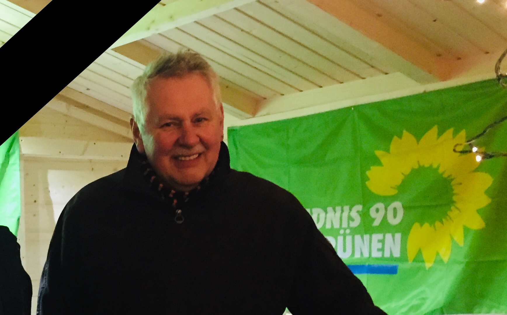 Nenndorfer GRÜNE trauern um Bernd Reese († 29.Juli 2021)