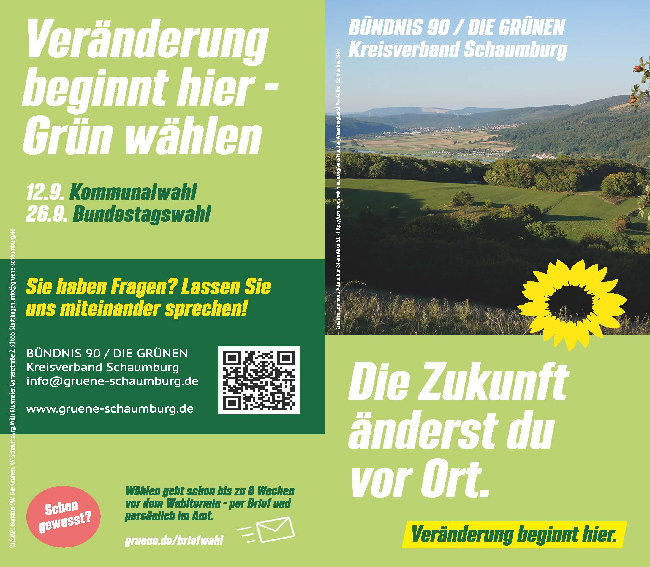 GRÜNES Kreistagswahlprogramm 2021